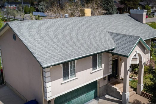 GAF architectural shingles with two-layer tear-off